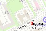 Схема проезда до компании Монолит Строй в Перми
