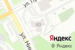 Схема проезда до компании Хостел Кашемир в Перми
