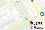 Схема проезда до компании Строители Пермского края в Перми