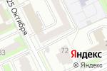 Схема проезда до компании Проф-Силинг Пермь в Перми