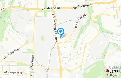 Местоположение на карте пункта техосмотра по адресу г Пермь, ул Героев Хасана, д 79