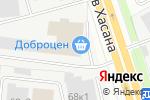 Схема проезда до компании Пермэкспосервис в Перми