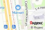 Схема проезда до компании Шаур`MAN в Перми