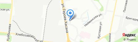 Мясной рай на карте Перми