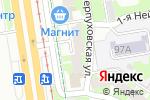 Схема проезда до компании Для вас в Перми