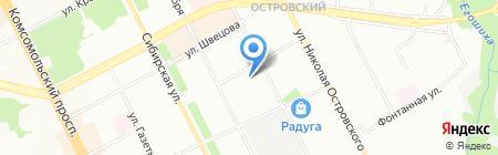 Мега-Транс на карте Перми
