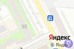 Схема проезда до компании АвтоГалерея в Перми