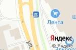Схема проезда до компании Большой праздник в Перми