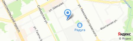 Детский сад №251 на карте Перми