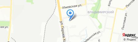 Средняя общеобразовательная школа №94 на карте Перми