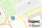 Схема проезда до компании Миллион роз в Перми