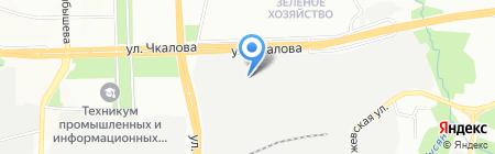 Домостроительный комбинат на карте Перми