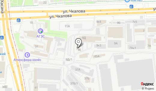 Уют. Схема проезда в Перми