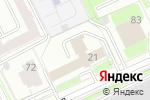 Схема проезда до компании Стройпрофи в Перми