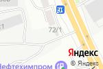 Схема проезда до компании Силач в Перми