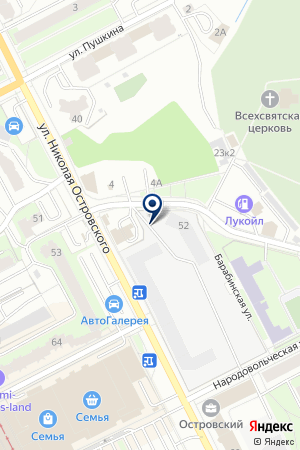 Шиномонтажная мастерская на Тихой на карте Перми