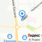 Информ на карте Перми
