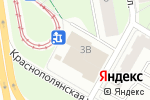Схема проезда до компании Швейное ателье в Перми