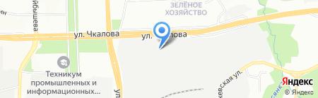 ФСТ-Урал на карте Перми