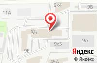 Схема проезда до компании Колорит в Череповце