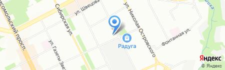 Зенит-М на карте Перми
