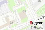 Схема проезда до компании Школа машинного вязания в Перми