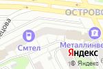 Схема проезда до компании BikeExpert в Перми