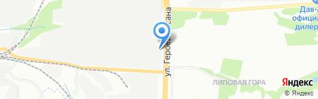 Автозапчасти на Липовой на карте Перми
