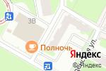 Схема проезда до компании Владимирский в Перми