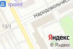 Схема проезда до компании 1С: Бухобслуживание БухгалтерЪ в Перми