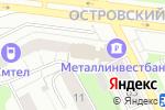 Схема проезда до компании Роза ветров в Перми