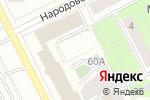 Схема проезда до компании Химчистка автомобилей в Перми