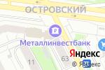 Схема проезда до компании Правовая сфера в Перми