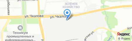 Ауттерия на карте Перми