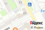 Схема проезда до компании Федерация бадминтона Пермского края в Перми