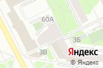 Схема проезда до компании Вдохновение в Перми