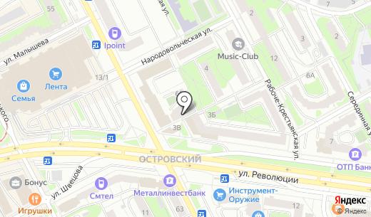 Тара59. Схема проезда в Перми