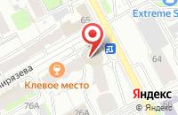 Схема проезда до компании Рекламно-Информационное Издание «Вау» в Перми