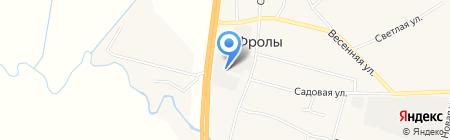 Пермский опытно-металлургический экспериментальный завод на карте Фролов
