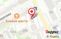 Схема проезда до компании Ит-Сервис в Перми