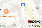Схема проезда до компании ИВС в Перми