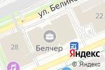 Схема проезда до компании Сотрудничество в Перми