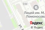 Схема проезда до компании ШЕФ дизайн в Перми