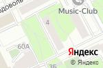 Схема проезда до компании Мастерская художника Якимова В. И. в Перми