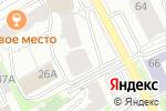 Схема проезда до компании 3D CLUB в Перми