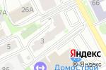 Схема проезда до компании Upgrade duet в Перми
