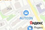 Схема проезда до компании bodyboom в Перми