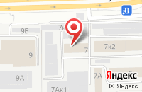Схема проезда до компании Монолит в Перми