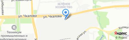 Урал-12 на карте Перми