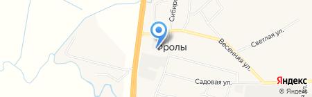 Диана на карте Фролов